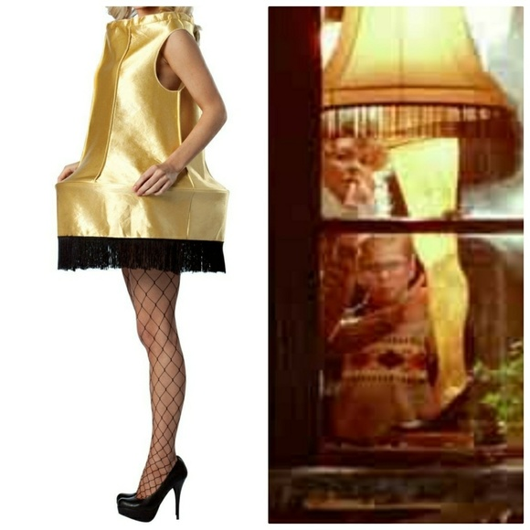 leg lamp a christmas story halloween costume dress